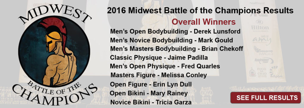 2016 Midwest Battle of the Champions Results