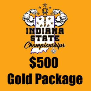 $500 Gold Indiana State Championships Sponsorship Package