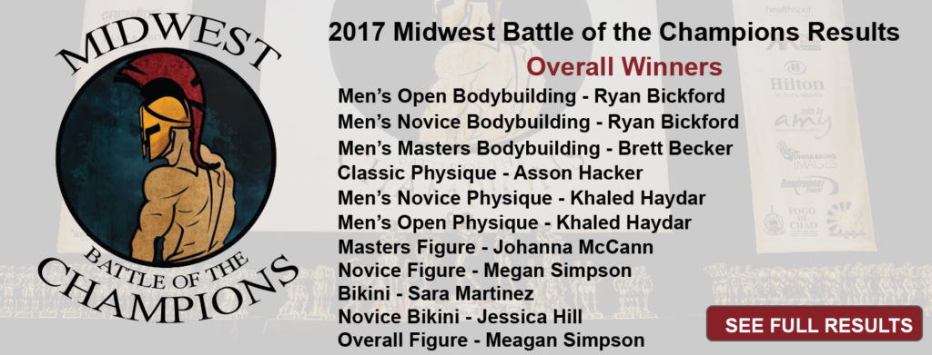 2017 Midwest Battle of the Champions Results